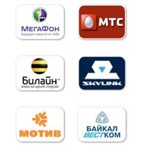 Операторы сотовой связи Камешково